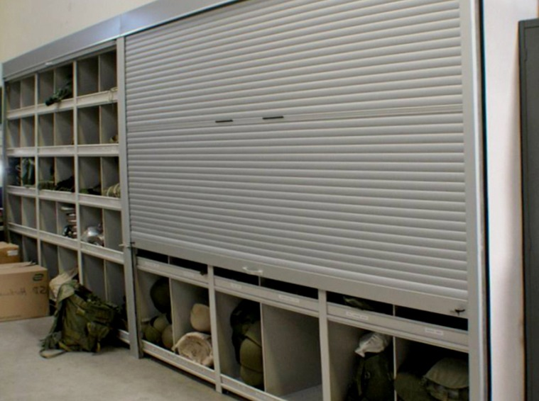Secure Storage With Roll Up Doors